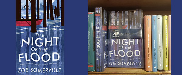 The cover of The Night of the Flood